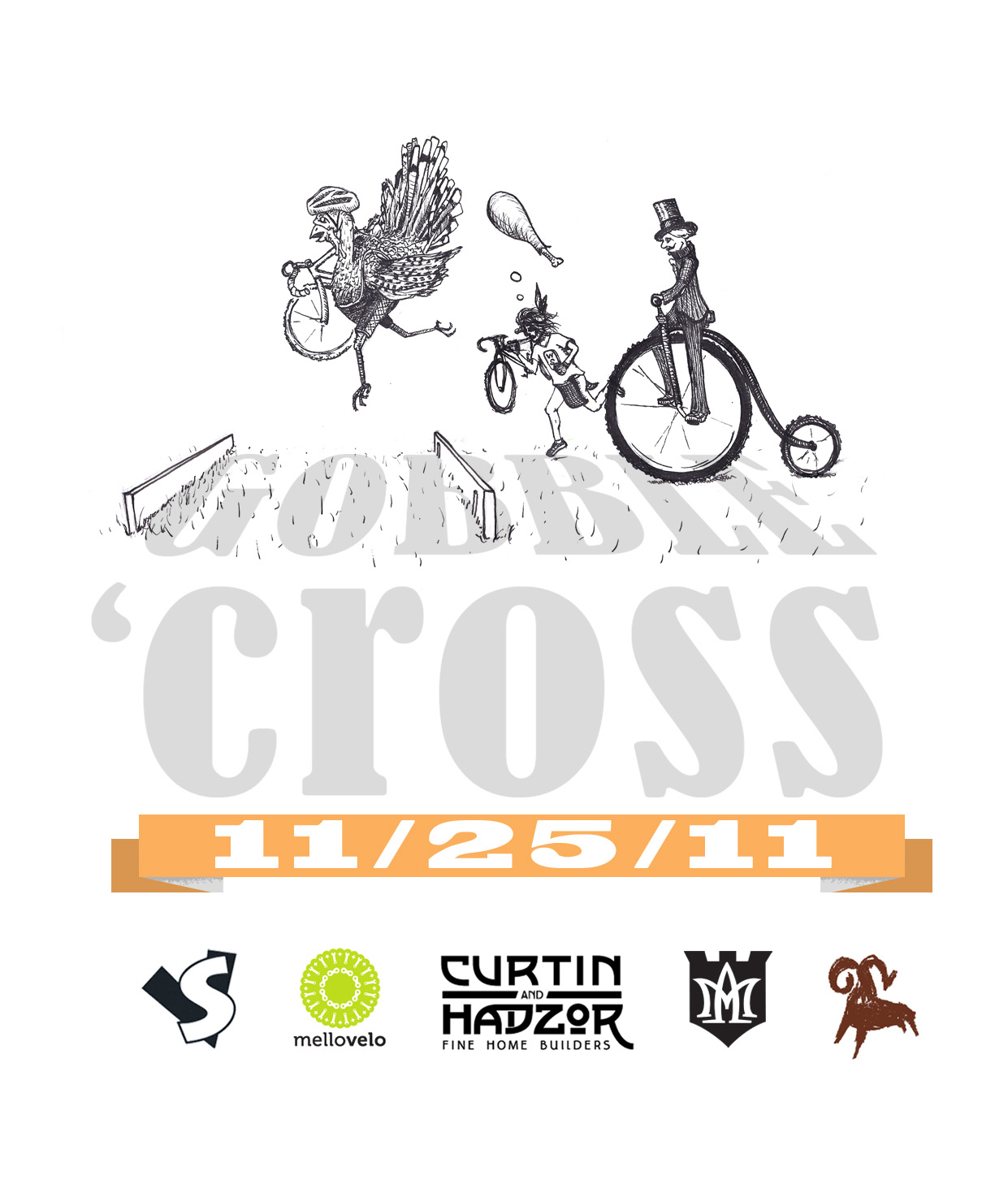 a citizens cyclocross race hosted by Curtin and Hadzor Fine Home Builders